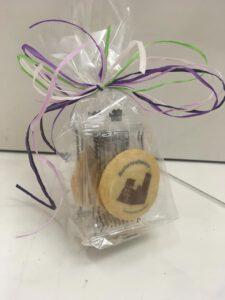 Schriese-Keksel in Geschenkverpackung
